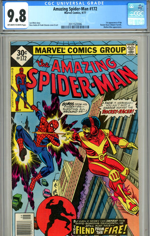 Amazing Spider-Man #172 CGC graded 9.8 HG - SOLD!
