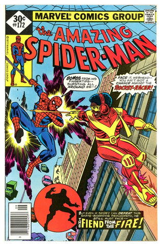 Amazing Spider-Man #172 NEAR MINT 1977 first Rocket Racer