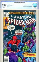 Amazing Spider-Man #180  CBCS graded 9.8  HIGHEST GRADED