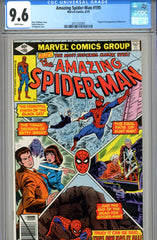Amazing Spider-Man #195 CGC graded 9.6 second Black Cat