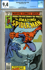 Amazing Spider-Man #200 CGC graded 9.4 white pages