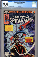 Amazing Spide-Man #210 CGC graded 9.4  first appearance of Madame Web