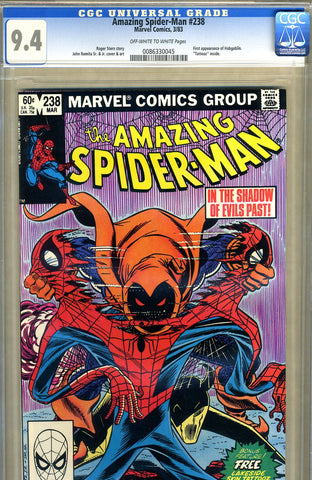 Amazing Spider-Man #238   CGC graded 9.4 - SOLD