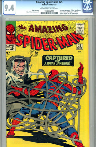 Amazing Spider-Man #025  CGC graded 9.4 SOLD!