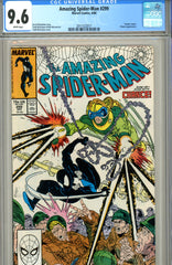 Amazing Spider-Man #299 CGC graded 9.6 brief Venom appearance