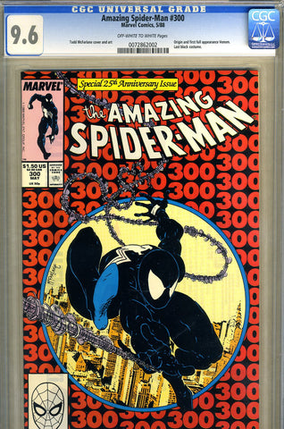 Amazing Spider-Man #300  CGC graded 9.6  first Venom - SOLD!