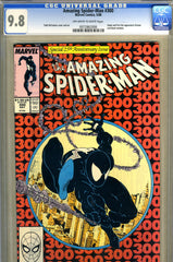 Amazing Spider-Man #300  CGC graded 9.8  first Venom