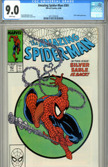 Amazing Spider-Man #301 CGC graded 9.0 Silver Sable