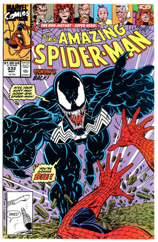 Amazing Spider-Man #332 VERY FINE