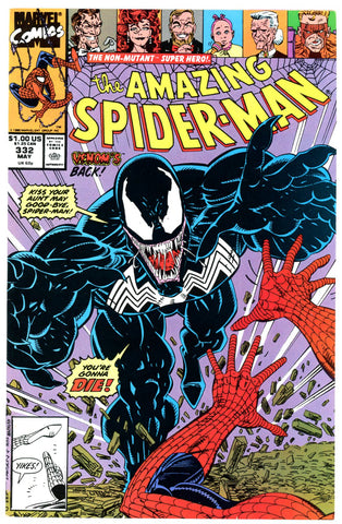 Amazing Spider-Man #332 VERY FINE+