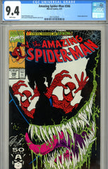 Amazing Spider-Man #346 CGC graded 9.4 Venom c/s