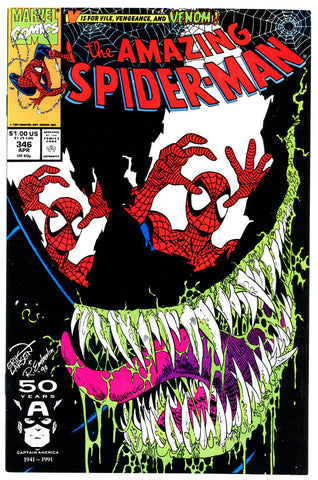 Amazing Spider-Man #346 VF/NEAR MINT