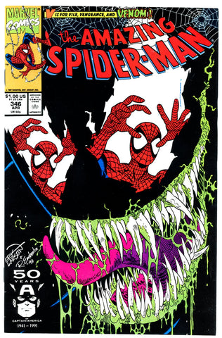 Amazing Spider-Man #346 VERY FINE+