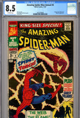 Amazing Spider-Man Annual #4 CGC graded 8.5
