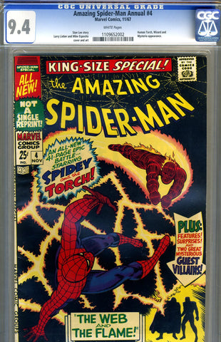 Amazing Spider-Man Special #4   CGC graded 9.4 - SOLD!