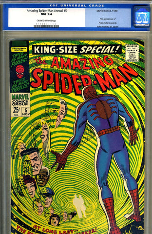 Amazing Spider-Man Annual #5  CGC graded 9.4 - SOLD!
