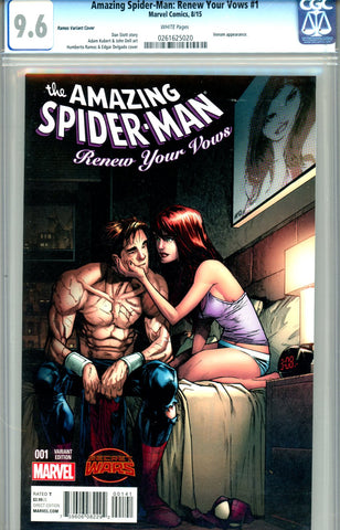 Amazing Spider-Man: Renew Your Vows #1  CGC graded 9.6 - Ramos SOLD!