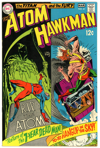 Atom and Hawkman #41   NEAR MINT-   1969 - Investment Grade