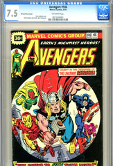 Avengers #146 CGC graded 7.5 - PRICE VARIANT