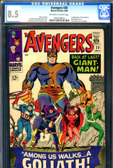 Avengers #028 CGC graded 8.5 - first Goliath