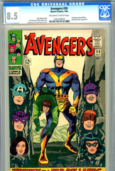 Avengers #030 CGC graded 8.5  Swordsman, Black Widow, Power Man