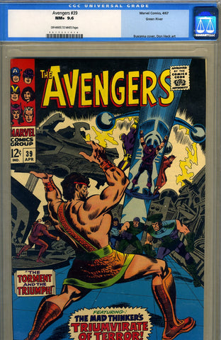 Avengers #39   CGC graded 9.6 - Green River pedigree - SOLD!