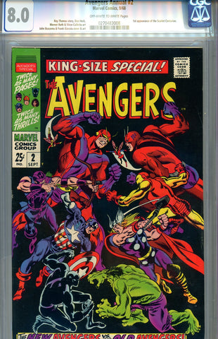 Avengers Special #02  CGC graded 8.0 - SOLD!