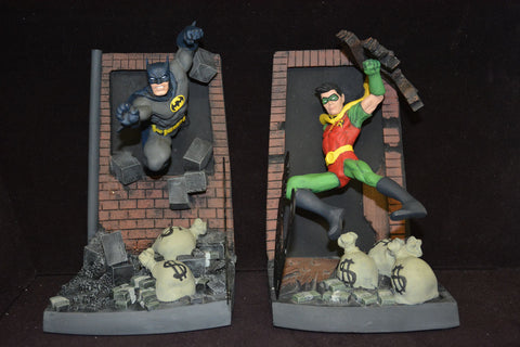 Batman & Robin bookends - William Paquet