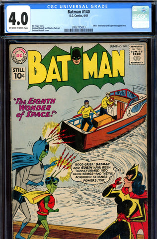 Batman #140 CGC graded 4.0 - Joker appearance