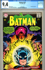 Batman #192 CGC graded 9.4 white pages