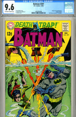Batman #207 CGC graded 9.6 PENDING