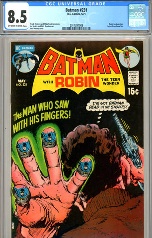 Batman #231 CGC graded 8.5 - Neal Adams cover