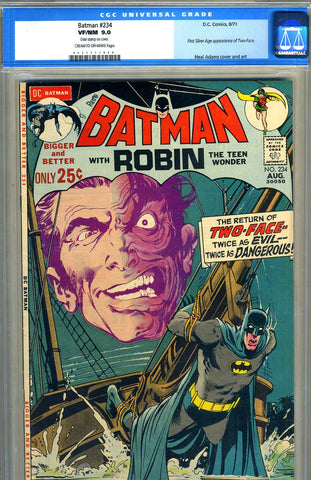 Batman #234   CGC graded 9.0 - SOLD