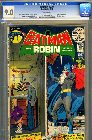 Batman #239   CGC graded 9.0 - SOLD!