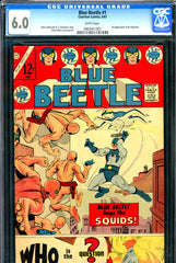 Blue Beetle #1 CGC graded 6.0 - first appearance of the Question - 1967