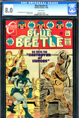 Blue Beetle #5 CGC graded 8.0 - white pages - last issue