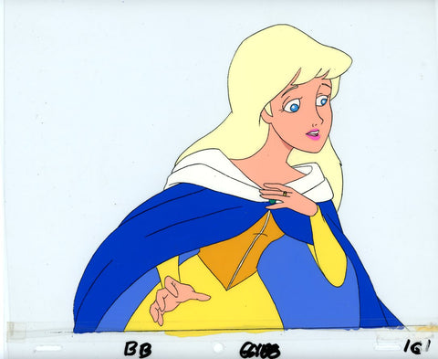 "Original production cel -""Beauty & the Beast""- by Golden Films 077 LARGE"