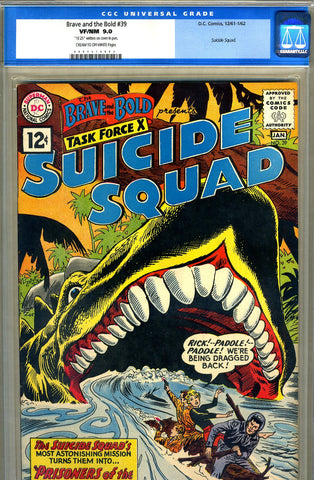 Brave and the Bold #39   CGC graded 9.0 - SOLD
