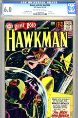 Brave and the Bold #44 CGC graded 6.0 pre-dates Hawkman #1