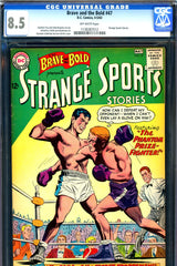 Brave and the Bold #47 CGC graded 8.5 Strange Sports Stories