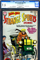 Brave and the Bold #48 CGC graded 7.5 Strange Sports Stories