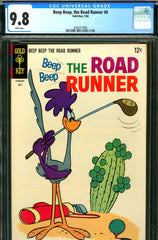 Beep Beep, the Road Runner #08 CGC graded 9.8 - HIGHEST GRADED