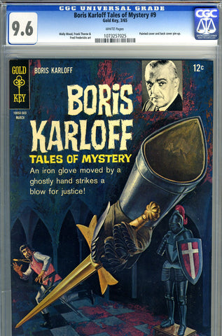 Boris Karloff Tales of Mystery #9   CGC graded 9.6 - SOLD