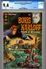 Boris Karloff Tales of Mystery #22 CGC graded 9.4