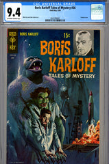 Boris Karloff Tales of Mystery #26 CGC graded 9.4