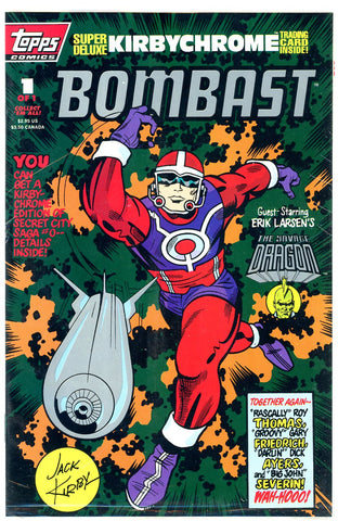 TOPPS - Bombast #1 (one-shot) polybagged w/chromium card NM  (two copies)