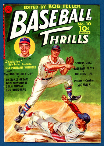Baseball Thrills #10 (#1)   F/VERY FINE   1951