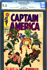 Captain America #104 CGC graded 9.0  Red Skull c/s