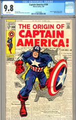 Captain America #109  CGC graded 9.8  BEST IN THE WORLD