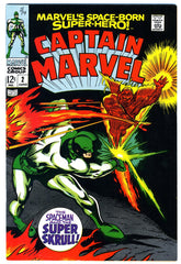 Captain Marvel #02  VERY FINE   1968